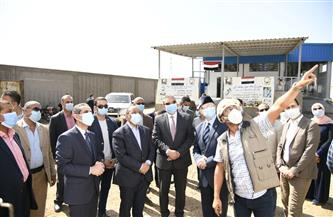 وزير التنمية المحلية يتفقد أعمال المجزر النصف آلي في شبشير الحصة بطنطا | صور