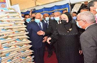 """وزيرا التجارة والصناعة والتموين  يفتتحان معرض """"أهلا رمضان» بمحافظة الجيزة"""