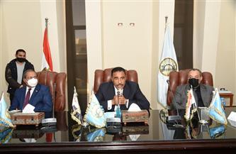 محافظة مطروح  تنظم مؤتمرًا لتنمية الثروة الحيوانية |صور