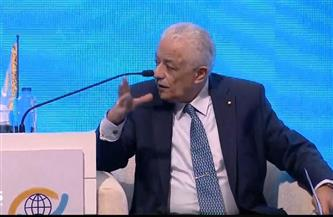 """طارق شوقي: """"أجرينا 50 مليون امتحان إلكتروني للطلاب داخل وخارج مصر في أزمة كورونا"""""""