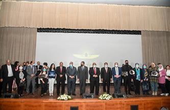 وزير السياحة والآثار ومحافظ القاهرة يشهدان حفل تكريم الجهات المشاركة في موكب المومياوات الملكية| صور