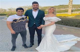 لاعبو الزمالك والجهاز الفني يهنئون أبو جبل بعقد قرانه
