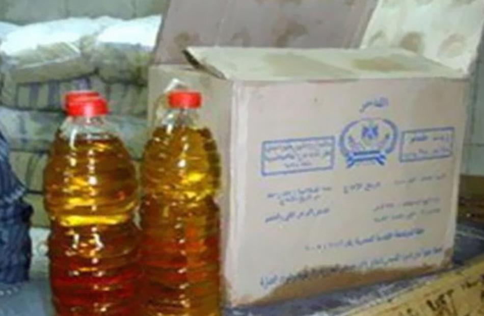 إحباط بيع  طن سكر و عبوة زيت تمويني في السوق السوداء بالقاهرة