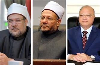 وزير الأوقاف والمفتي ومحافظ الجيزة يفتتحون مسجد النور بالمنصورية