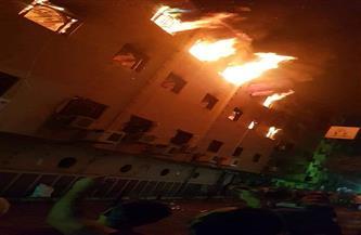 النيابة تحقق في حريق كنيسة بمنطقة العمرانية
