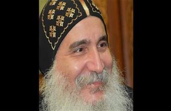 أسقف بني سويف يرأس صلوات الجمعة العظيمة بدون حضور شعبي