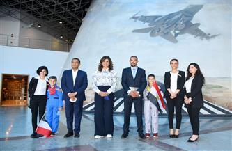 «الهجرة» تنظم زيارتين للمواطن المصري أحمد شعبان ونجليه بالمتحفي الجوي والقومي للحضارة | صور