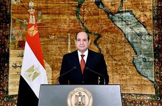 الرئيس السيسي يوجه رسالة إلى عمال مصر عبر حسابه بـ«فيس بوك»