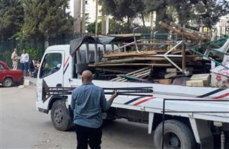 إزالة 241 إشغال طريق في دمنهور