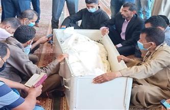 تشييع جثمان القيادي العمالي «وهب الله» من مسجد عمرو بن العاص  صور