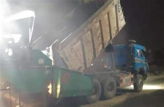 «مستقبل وطن» بالعياط يتابع عملية رصف وتحسين طريق «مصر أسيوط الزراعي» | صور
