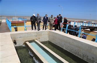 تكثيف عمليات تحسين مياه الشرب ضمن مبادرة «حياة كريمة» بقرى مركز مطوبس بكفرالشيخ | صور
