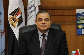 رئيس جامعة  كفرالشيخ يهنئ الأخوة الأقباط بعيد القيامة المجيد