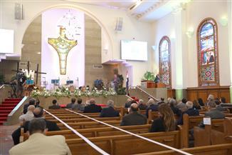 تفاصيل احتفال الطائفة الإنجيلية بعيد القيامة| صور