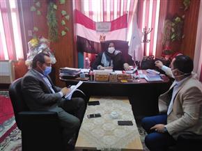فريق طبي ووقائي من وزارة الصحة يفحص مستشفيات العزل بكفرالشيخ| صور