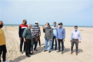 جولة ميدانية بشواطئ جمصة للتأكد من تنفيذ قرار غلقها خلال شم النسيم| صور