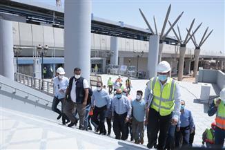 وزير النقل يتابع أعمال تنفيذ القطار الكهربائي  السلام - العاصمة الإدارية الجديدة - العاشر من رمضان| صور