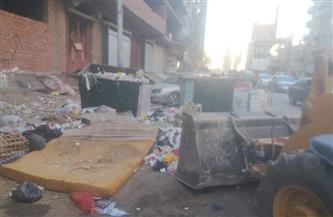 رفع 65 طن مخلفات وقمامة بشوارع مدينة أخميم| صور