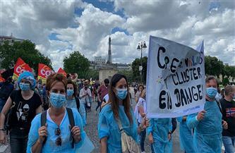 الشرطة تحتجز العشرات في احتجاجات حاشدة بأنحاء فرنسا في يوم العمال