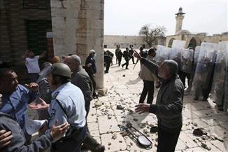 """الرئاسة الفلسطينية تدين الإجراءات القمعية ضد المقدسيين خلال احتفالات """"سبت النور"""""""