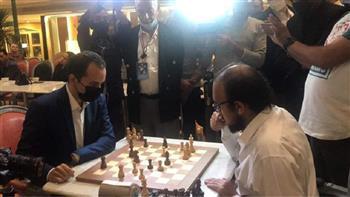 مباراة استعراضية بين البطل والوصيف في ختام بطولة فيرست الدولية للشطرنج