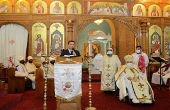 الفاضلي يُقدم التهنئة بعيد القيامة المجيد لأبناء الكنيسة المصرية في جنوب إفريقيا