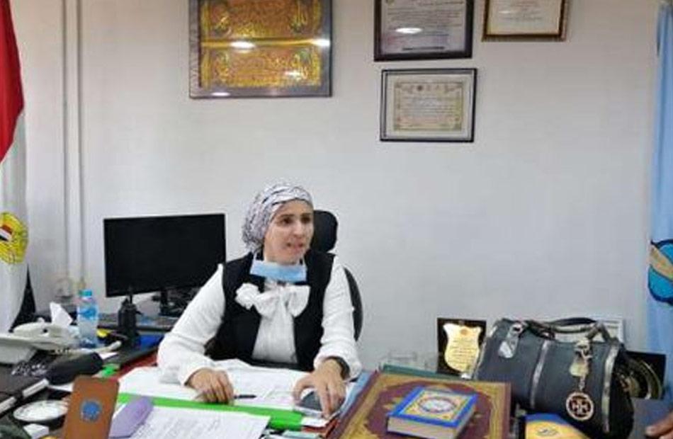 رئيسة سفاجا تشدد على ضرورة الالتزام بالإجراءات الاحترازية لمواجهة الموجة الرابعة