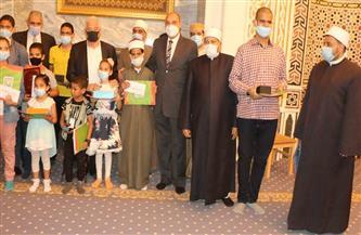 محافظ جنوب سيناء يكرم حفظة القرآن الكريم احتفاء بليلة القدر| صور
