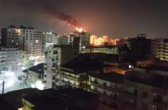 حريق بأحد الفنادق في طنطا.. والحماية المدنية تحاول السيطرة عليه
