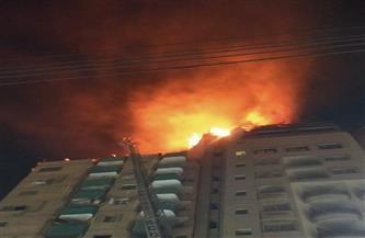 السيطرة على حريق بأحد الفنادق في طنطا دون خسائر بشرية