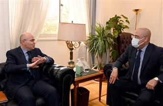 وزير الإسكان يلتقي السفير المغربي بالقاهرة لبحث سبل دعم وتعزيز الاستثمارات المُتبادلة |صور