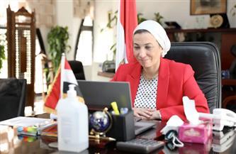 وزيرة البيئة تستعرض أهم المشروعات ضمن مبادرة حياة كريمة