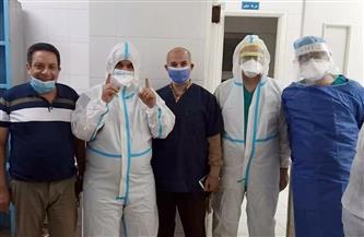 جراحة دقيقة لمريض مصاب بفيروس كورونا بمستشفى المنشاوي العام بطنطا
