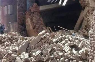 انهيار منزل بالطوب اللبن بالقليوبية.. دون خسائر