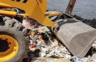 رفع 140 طن مخلفات وتراكمات من طرق وشوارع قطور في الغربية