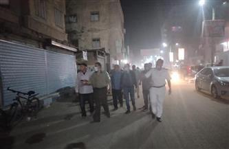 تحرير 32 محضرًا في حملة ليلية لحي بولاق الدكرور