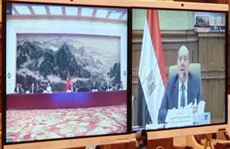 رئيس مجلس الشيوخ يعقد اجتماعًا مع رئيس المجلس الوطني للمؤتمر الاستشارى السياسي للشعب الصيني