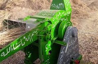 ماكينة درس الأرز تبتر «كف» عامل بمركز في المنصورة