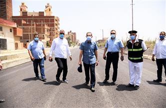 محافظ الغربية يتفقد أعمال الرصف والتطوير بشوارع العاصمة | صور