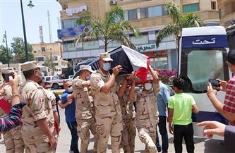 تشييع جثمان «مهران» قائد المقاومة الشعبية ببورسعيد الذى اقتلع الإنجليز عينيه أثناء العدوان الثلاثى   صور