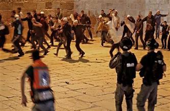 تجدد المواجهات بين الفلسطينيين وقوات الاحتلال الإسرائيلي في المسجد الأقصي