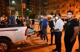 """تكثيف حملات ضبط الشارع في جنوب القاهرة لمنع ارتفاع الإصابات بـ""""فيروس كورونا"""""""