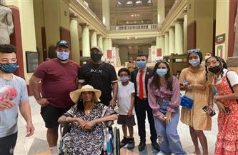 بعد أن حققت «التنسيقية» حلمها.. التفاصيل الكاملة لزيارة السيدة الأمريكية محاربة السرطان لمصر  صور
