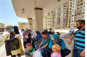 تطهير وتعقيم 100 موقع وحملات توعوية بمحطة القطار والأسواق في كفر الشيخ | صور
