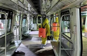 السكة الحديد تواصل تطهير وتعقيم المحطات والقطارات منعا لانتشار فيروس كورونا