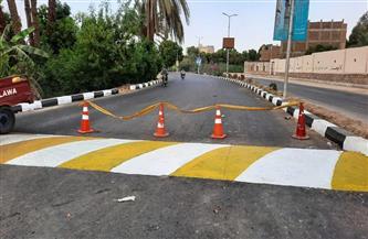 رئيس مدينة البياضية يتفقد أعمال توسعة طريق المسار السياحي |صور