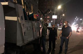 حي الدقي يشن حملة توعية بالمكبرات الصوتية في الشوارع لتطبيق الإجراءات الاحترازية | فيديو