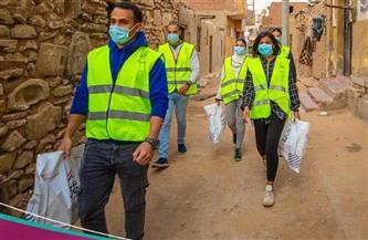 صندوق تحيا مصر ينظم قافلة لمستعمرة الجذام |صور