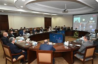 """8 وزراء يستعرضون مشروع مخطط تنمية البوابة الاقتصادية الشمالية الشرقية """"باب مصر"""""""