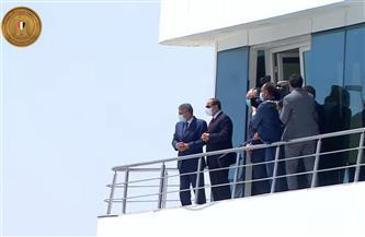 تعرف بالتفاصيل على المشروعات التنموية التي افتتحها الرئيس السيسي في قناة السويس | مستندات